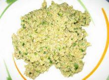 Receta quinoa con calabacion y champiñones