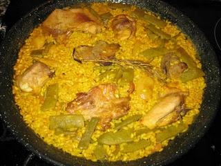 Recetas Paella valenciana