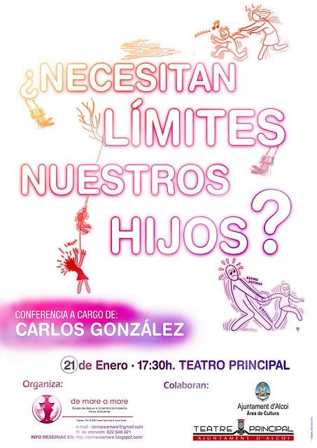 Conferencia Carlos Gonzalez Alcoy 2012