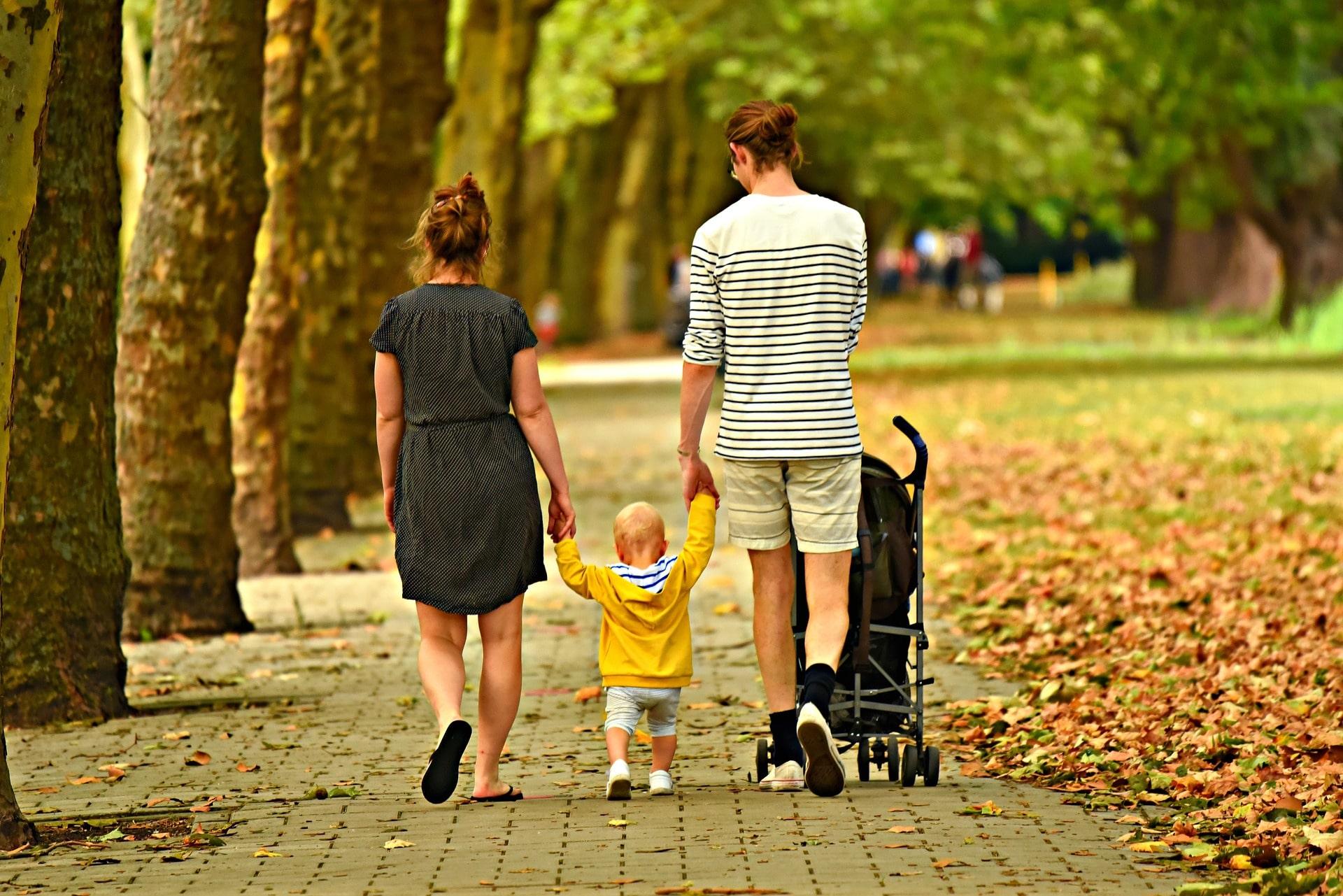 BLW, cochecitos para bebés y pasear en familia